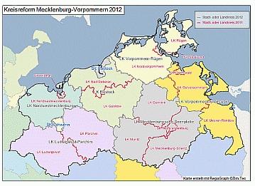 Kreisreform in Mecklenburg-Vorpommern
