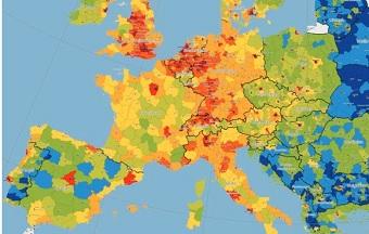 Landkartenedition Europa 2015/2016