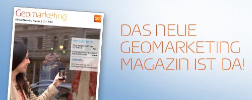 Geomarketing Magazin 01 - 2014