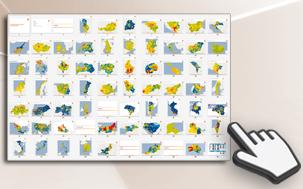 Kaufkraftkarten für 60 Länder weltweit