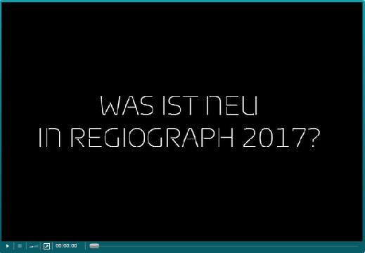 """Video """"Was ist neu in RegioGraph 2017"""""""